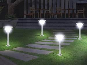Lampe D Extérieur : lampe ext rieur all e eclairage ext rieur ~ Teatrodelosmanantiales.com Idées de Décoration