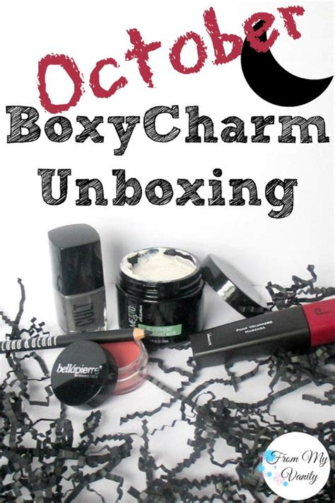 Boxycharm's October Unboxing  Swatches & Mini Reviews