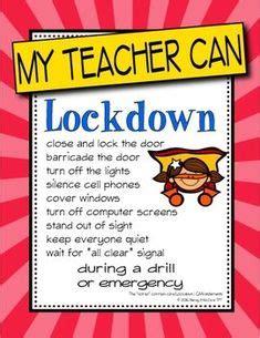 quot i can quot lockdown safety procedures posters intruder 549 | af3d4886bdd0df1d1776b7b41c22b6b8