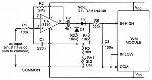 Ac  Dc Converter For Use With Dvm Module
