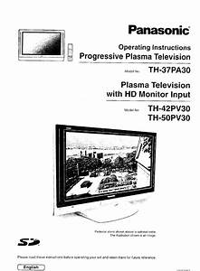 Panasonic Flat Panel Television Th