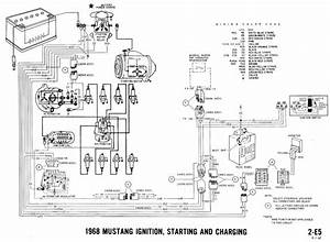 1969 Ford Mustang Engine Wiring Diagram