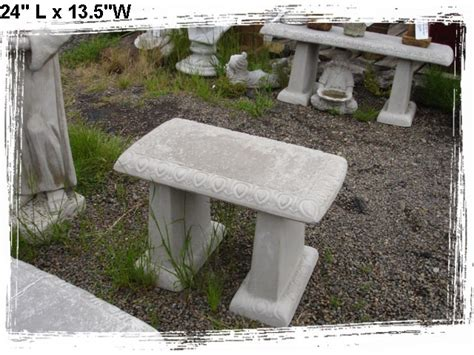 concrete benches and tables baja