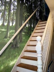 trompe loeil tapeten der geheimtipp fur With balkon teppich mit trompe l oeil tapete
