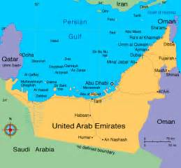 Maps of UAE - Emirates Travel Guide
