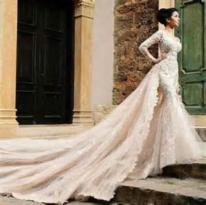 robe de mariã e en dentelle guipure robe de sirène avec col en v robe de mariée décoration de mariage