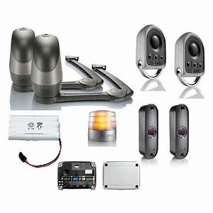 Motorisation De Portail Somfy : kit axovia 220b io gris motorisation portail battant somfy ~ Dailycaller-alerts.com Idées de Décoration