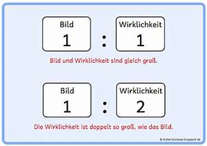 Maßstab Berechnen Grundschule : materialwiese merkplakate zum thema ma stab ~ Themetempest.com Abrechnung