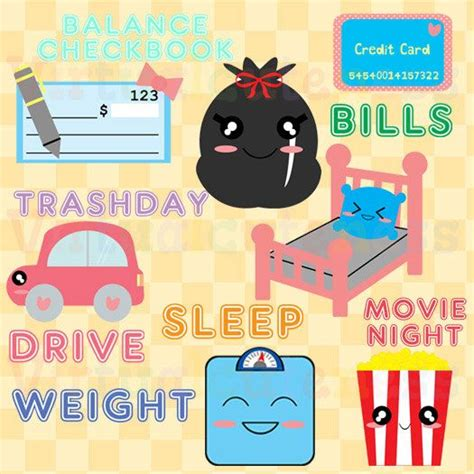 planner clipart clip art library