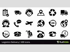 Logistics Delivery 100 free icons SVG, EPS, PSD, PNG files