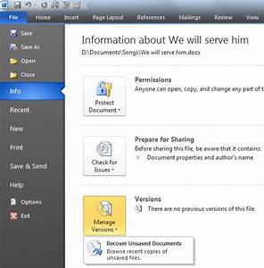 recover unsaved documents ms word 2010 mavtech With microsoft unsaved documents