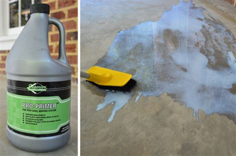 Concrete Floor Leveler Home Depot by Leveling And Fitting Tile In An Outdoor Area