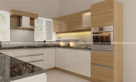 D'life Home Interiors Thrissur : 5 Styles Of Customized Modular Kitchens In Kerala