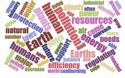 Science Environmental Survey Word Cloud Introduction
