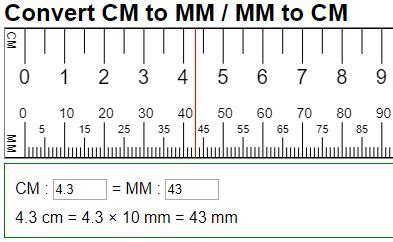 90mm to cm convert cm to mm millimeters to centimeters 10 mm in 1 cm