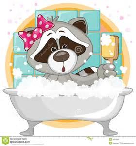 Cute Cartoon Raccoons