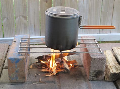 Backpacking Grill