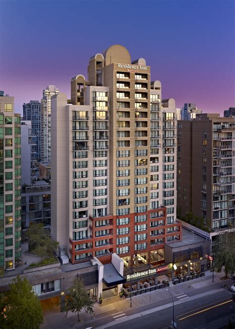 residence inn  marriott vancouver vancouver canadian affair