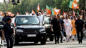 PM modi security during varanasi visit along with CM and ...