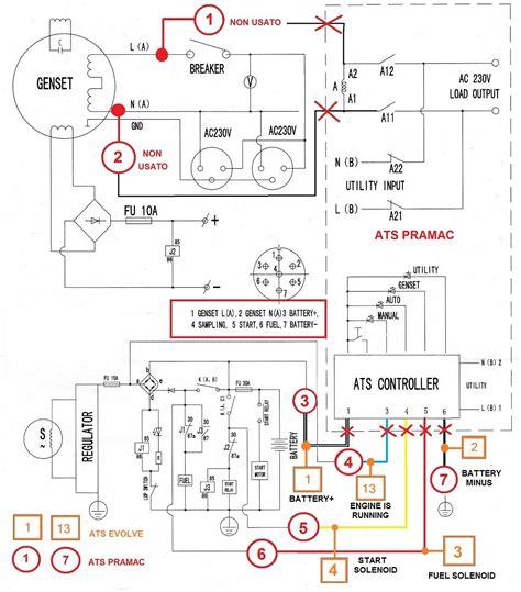 generator wiring diagram 24 wiring diagram images