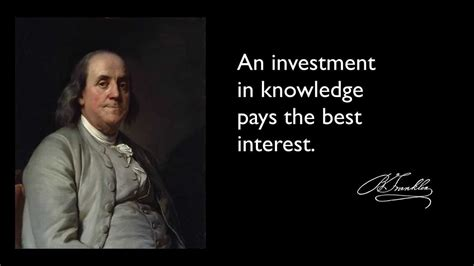 Ben Franklin Quotes Benjamin Franklin Quotes On Education Www Imgkid