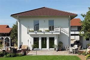 stadtvilla bravur 130 modernes fertighaus mit 133 m2 With garten planen mit fertighaus mit balkon