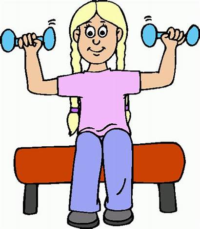 Lifting Weights Clipart Weight Building Exercises Lose