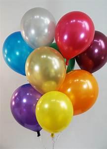 12 Inch Metallic Assortment Balloons