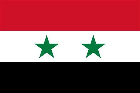 syria flag wikipedia arab flagge svg siria egypt bandera bandeira syrien syrian republic syriens turkish united bitlife flags sy wiki