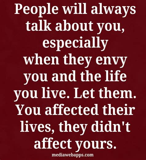 People Talking About You Quotes Quotesgram