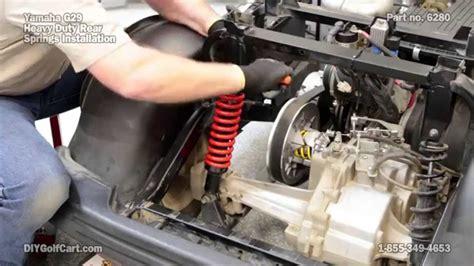 yamaha  drive rear heavy duty springs   install