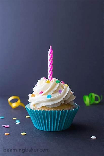 Birthday Cupcakes Funfetti Cupcake Animated Frosting Vanilla