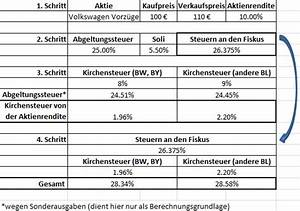 Kapitalertragsteuer Berechnen : abgeltungssteuer berechnen formel b rozubeh r ~ Themetempest.com Abrechnung