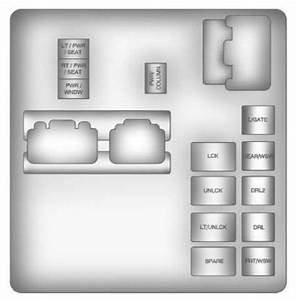 Chevrolet Traverse  2011  - Fuse Box Diagram