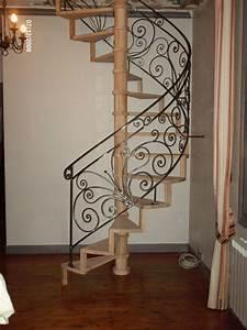 Garde Corps Escalier Fer Forgé : rambarde escalier pas japonnais ou hollandais fer et matieres artistique ~ Nature-et-papiers.com Idées de Décoration