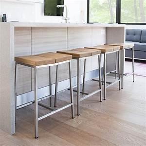 Indoor Counter Height Bar Stools — MarkU Home Design