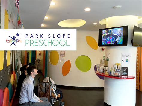 park slope preschool celebrates new website launch with 25 185 | Parents viewing room 1200 logo
