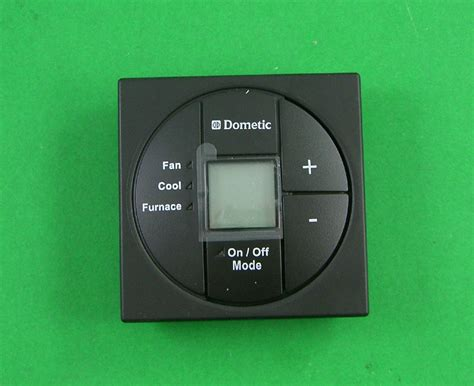 dometic 3313192019 black single zone lcd rv thermostat ebay