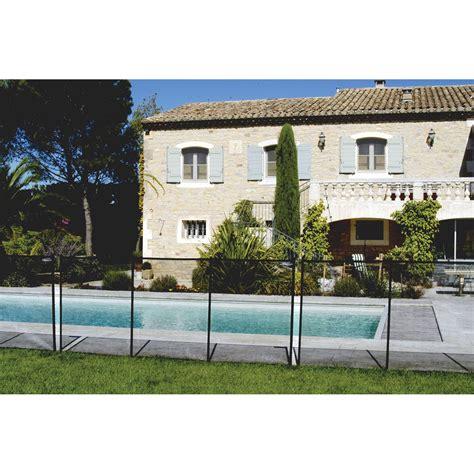 barri 232 re pour piscine pvc 104000 ral9005 h 125 x l 300 cm leroy merlin