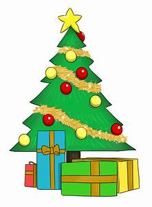 Clip Art Christmas Tree With Presents | Clipart Panda ...