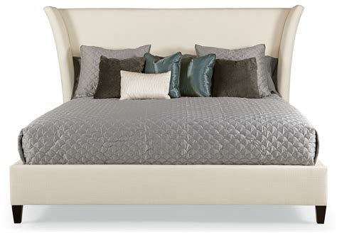 padded headboard size bed pict flare upholstered bed bernhardt