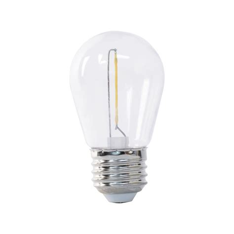 s14 light bulbs feit electric 11w equivalent soft white 2200k s14 string