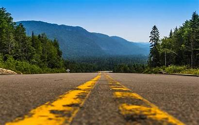 Canada Road Forest Cool Wallpapers Backgrounds Pc