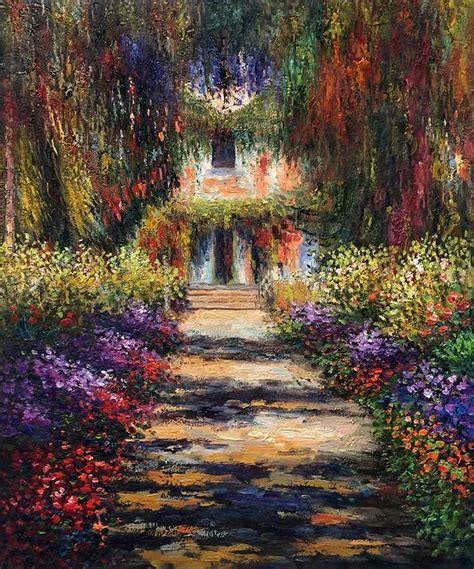 popular monet garden painting buy cheap monet garden painting lots from china monet garden