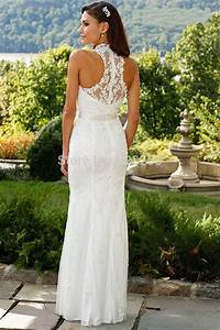 cheap lace wedding dresses without trains free shipping With wedding dresses without trains
