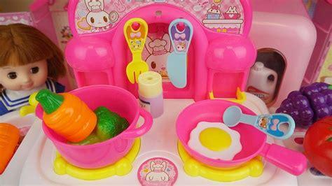 baby doli  kitchen baby doll refrigerator food toys