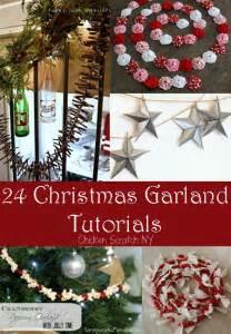 24 garland tutorials