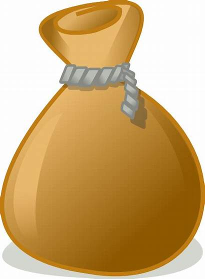 Empty Moneybag Clip Clipart Clker Vector