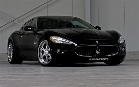 black maserati black maserati wheels and more full hd desktop