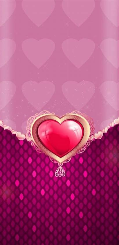 Pretty Heart Wallpapers Iphone Phone Girly